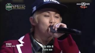 [Vietsub] [School Rapper] Vòng đối đầu 1:1 - Mark, Bang Jae Min - Ep.7 170324