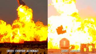 Elon Musk's reaction on SpaceX Starship SN10 explosion after successful landing Thumb