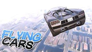FLYING CARS( GTA V MODS)
