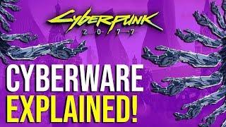 Cyberpunk 2077 - Cyberware Explained! (ALL Types!)