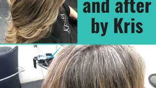 Before and after by Kris