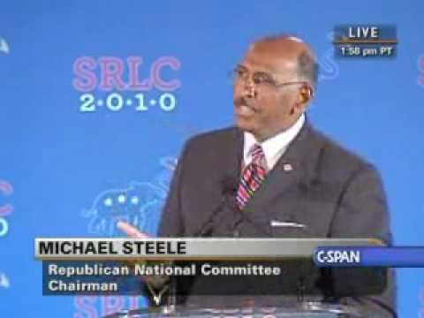 RNC chairman Michael Steele wrapped up the Southern Republican Leadership Conference