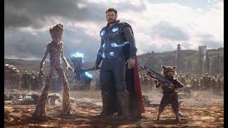 Подать мне Таноса! Тор Ракета и Грут Прибывают в Ваканду - Момент из Фильма