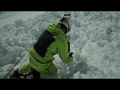 Tutorial: Richtige Verhalten bei Lawinenabgang   LAB SNOW