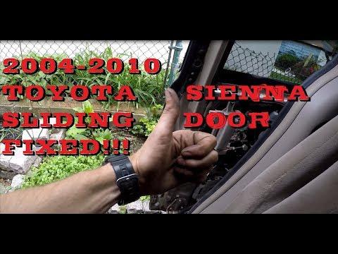 Fixed Toyota Sienna Power Sliding Door Problem Youtube