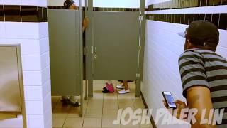Секс в общественном туалете!(Розыгрыш)