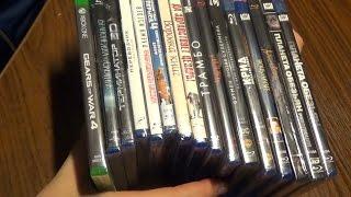 Передноворічна розпакування 15 Blu ray дисків + 1 на XboxOne