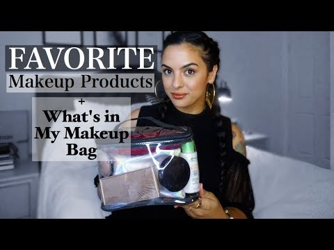 Favorite Makeup Chit Chat + Whats in my makeup bag | elle be |