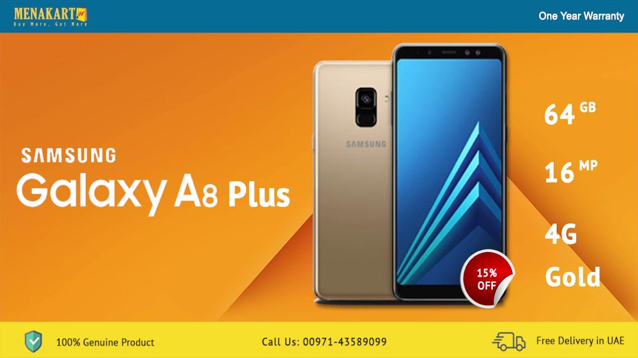 Samsung Galaxy A8 Plus online in UAE | Samsung Galaxy A8 Price In Dubai