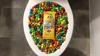 Will it Flush? - M&M's and M&M's Candy Bar
