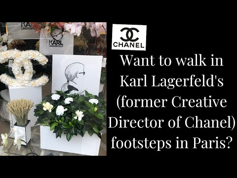 Karl Lagerfeld's Paris | Former Chanel Creative Director (also Worked At Chloe & Fendi)
