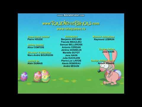 Toupie et Binou: L'Halloween de Toupie Credits