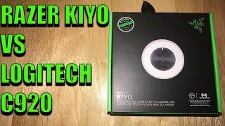 Razer Kiyo Review - Razer Kiyo VS Logitech C920