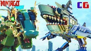 Лего Ниндзяго #2 АТАКУЕМ ГАРМАДОНА Мультяшная игра для детей The LEGO NINJAGO Movie Video Game