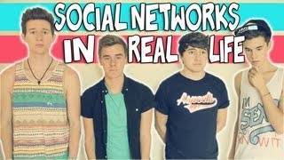 SOCIAL NETWORKS IN REAL LIFE | RICKY DILLON