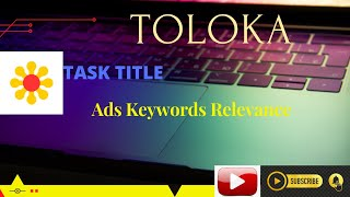 Ads Keywords Relevance #100%PASS #TOLOKA #YANDEX #EARN #MONEY #YANDEX screenshot 4