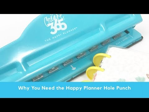 Why You Need a Happy Planner Hole Punch