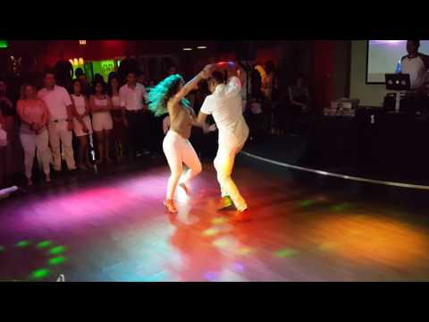 Jessica & Edward bachata performance @ We Love Bachata White Party