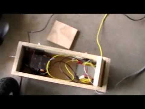 How to make a homemade Welder (diagram) - YouTube