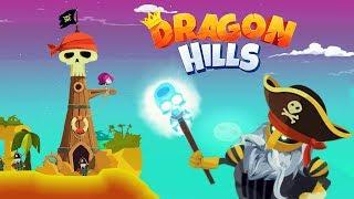 Dragon Hills #6 БОСС ПИРАТОВ! Мультяшная игра для детей РУЧНОЙ ДРАКОН ПРИНЦЕССЫ