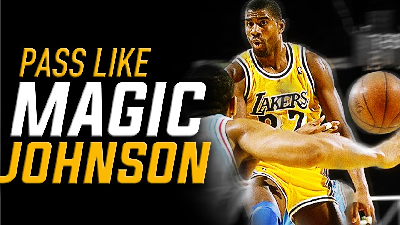 Pass Like Magic Johnson NBA Basketball Moves