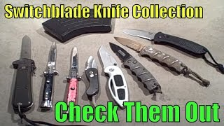 Switchblade Knife Collection