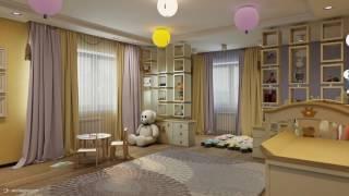 Дизайн дома с разнообразием стилей 2-й этаж