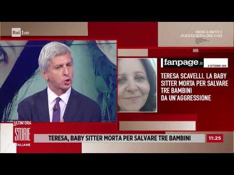 Teresa, la coraggiosa baby sitter morta per salvare tre bambini - Storie italiane 10/09/2020
