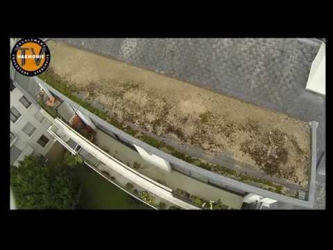Diagnostic étanchéité. Visite de toiture par drone , un outil de diagnostic.