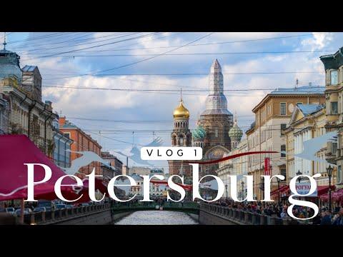 Jak podróżować do PETERSBURGA? | vlog