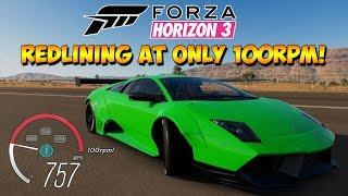 Forza Horizon 3 - Modded Cars With 100RPM Redline - Dev Mods