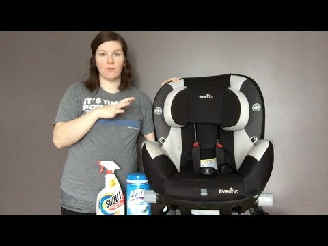 How To Clean Your Evenflo Triumph Car Seat