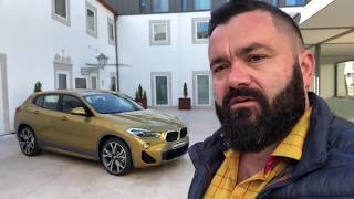Маленький и наглый SUV BMW X2 2018. Официальная презентация. Заметки Рулевого. Португалия [ENG SUB]