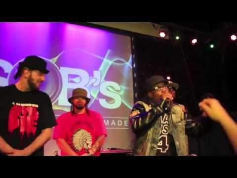 Incredible Cypher of Hip Hop Legends at R.A. the Rugged Man show