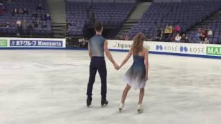 [ISU WC 2017] Ice Dance Practice - Gabriella/ Guillaume
