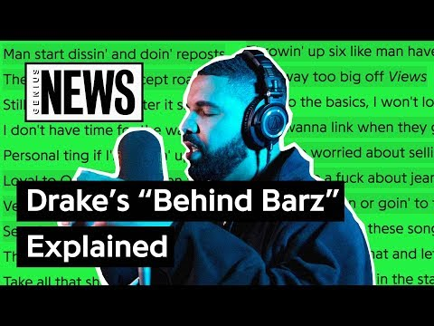 """Drake's """"Behind Barz"""" Explained   Song Stories"""