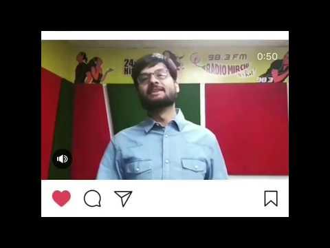 Padmavat - Radio mirchi RJ- Dhwanit cought huge mistake in Gujarat Samachar ad