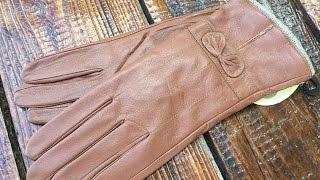 Женские яркие перчатки 513 Shust Gloves(Женские цветные кожаные перчатки. Натуральная кожа Шерстяная подкладка Заказать перчатки по оптовой цене..., 2016-08-26T13:34:05.000Z)