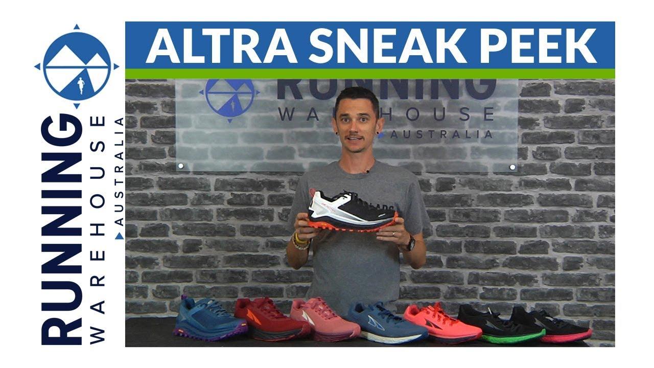 Sneak Peek new Altra Shoes - YouTube