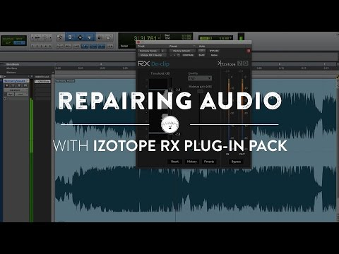 Repairing Audio with the iZotope RX Plug-in Pack | Reverb Mixing Tips