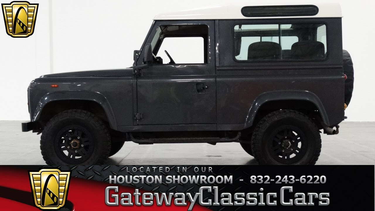 1987 land rover defender 90 houston texas youtube. Black Bedroom Furniture Sets. Home Design Ideas