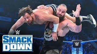 Braun Strowman interrupts match between Drew Gulak and Kalisto: SmackDown, Oct. 25, 2019