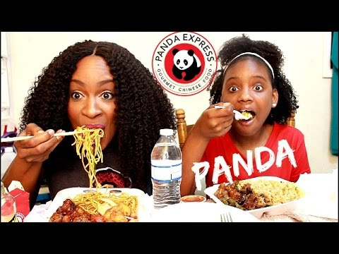 ASMR/MUKBANG: PANDA EXPRESS! THE INFAMOUS ORANGE CHICKEN! EAT WITH US! #BURPSHOW YUMMYBITESTV