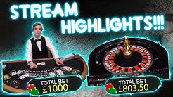 BIG Tables & Slot ACTION!!! Stream Highlights!!