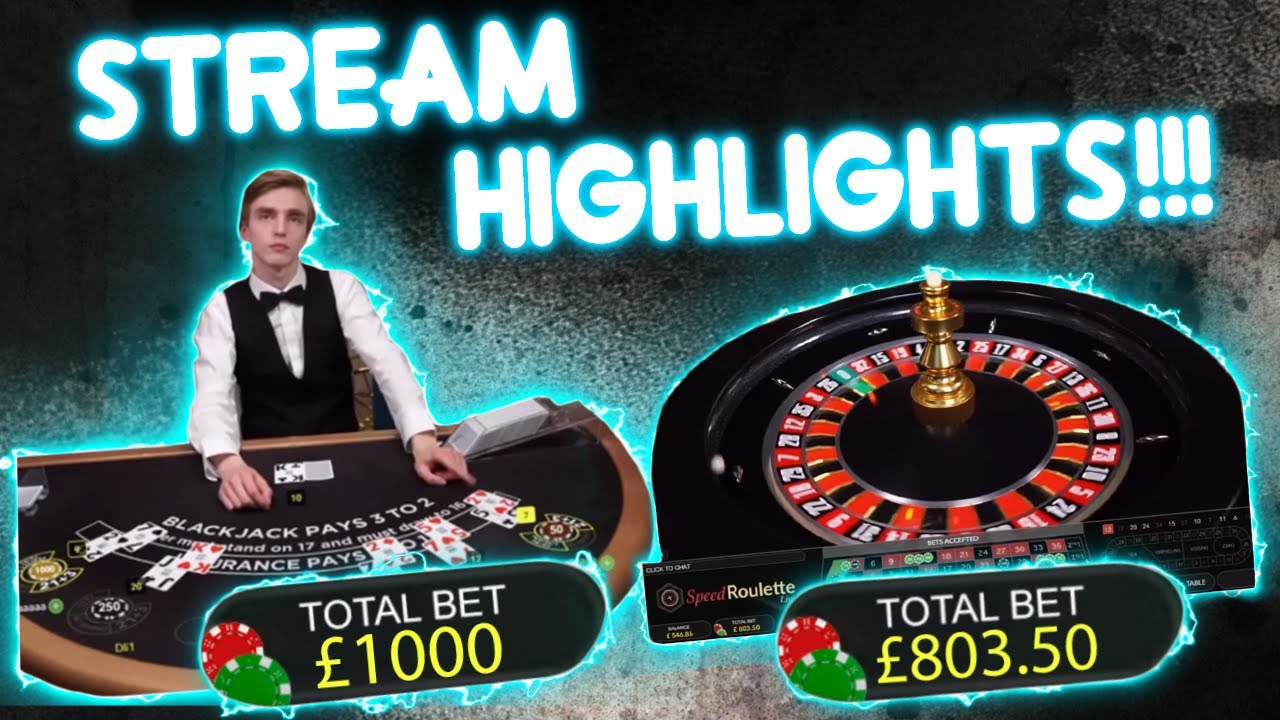 Big Tables Slot Action Including Risky Bets Casino Stream Highlights Youtube