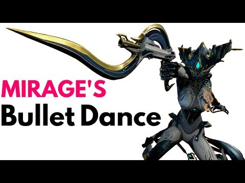 Warframe | Mirage's Bullet Dance | Sarpa and Mirage Synergy Build thumbnail