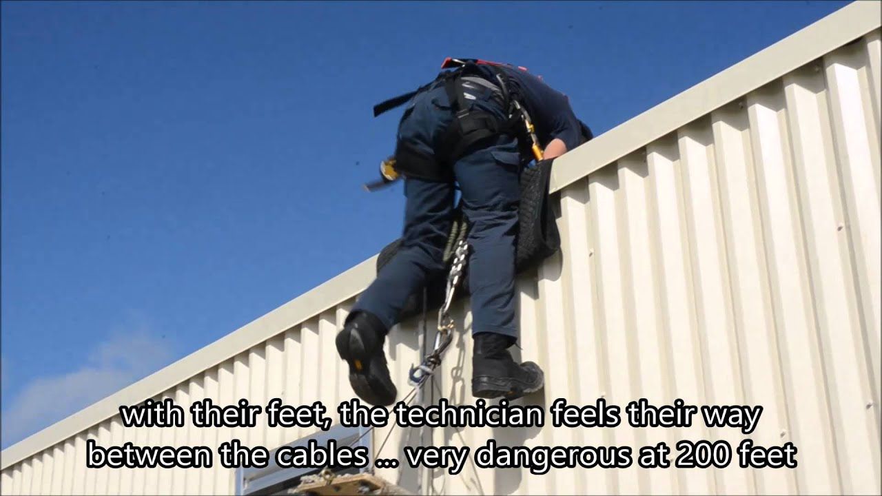 Clearview Rope Access vs chair you tube