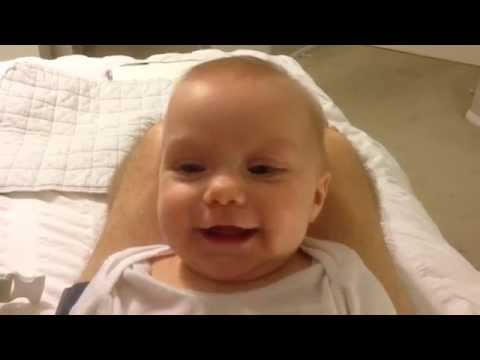 Baby Maisy Laughing at Daddy's Sneezes