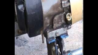 cambiar aceite de motor en motoazada, motocultor, rotabator ...( 1de 2 )