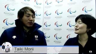 #ProudParalympian: the Sochi Series with Taiki Morii (JPN)